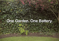 one garden one battery