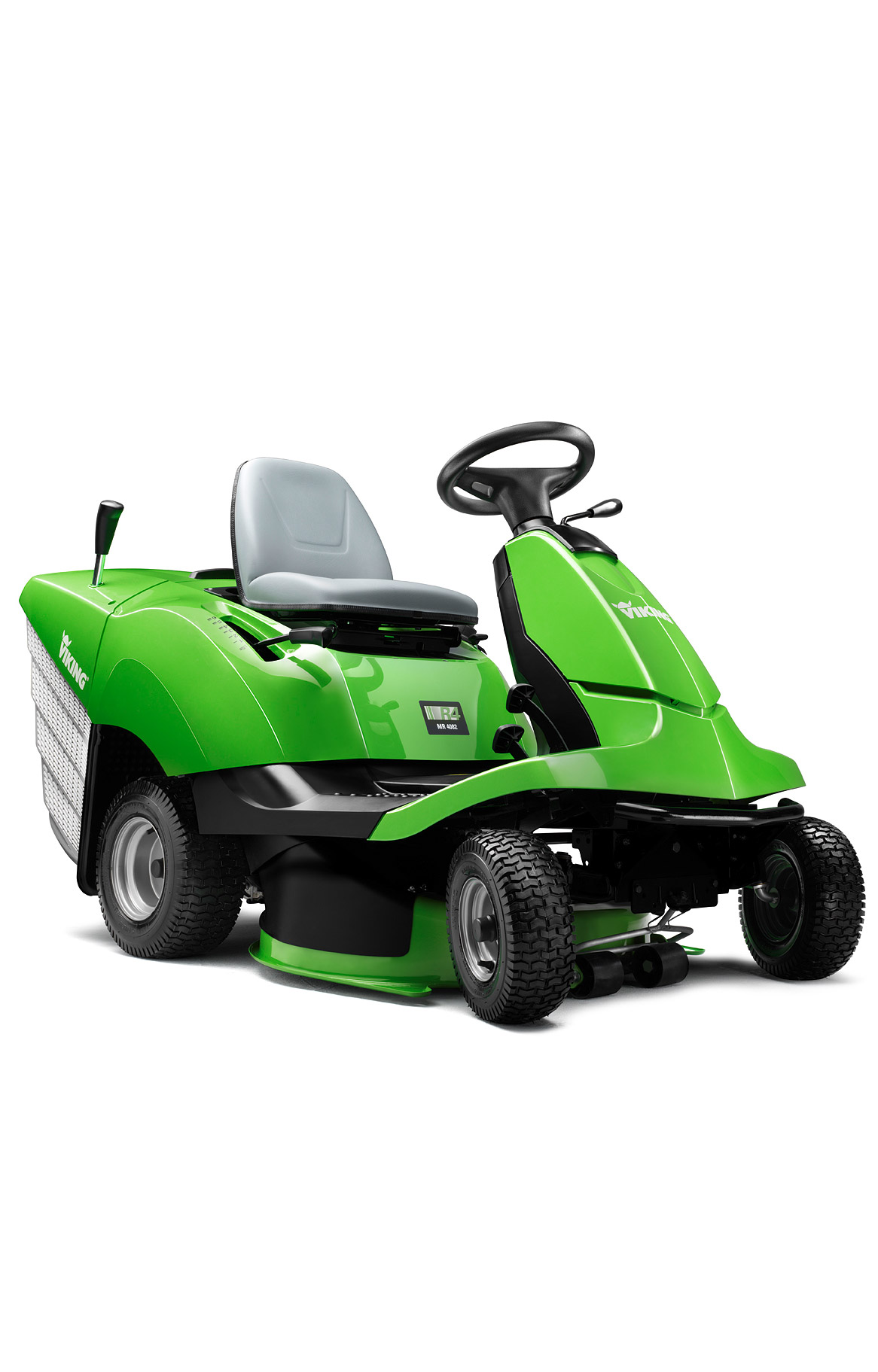 Viking The New R4 Series Ride On Mower Manoeuvrable